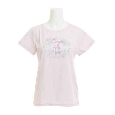 HUITIEMEウェアTシャツ 半袖 T/C DROP SHOULDER HU18SCD864412LVDラベンダー
