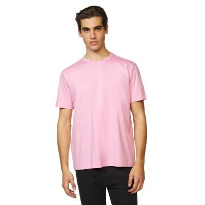 (BENETTON (mens)/ベネトン メンズ)シンプル無地半袖Tシャツ・カットソー/メンズ ピンク