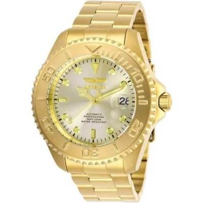 腕時計 インヴィクタ メンズ Invicta Pro Diver Automatic Champagne Dial Men's Watch 28950