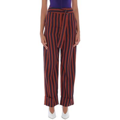 YOON パンツ 赤茶色 40 レーヨン 90% / ナイロン 10% パンツ