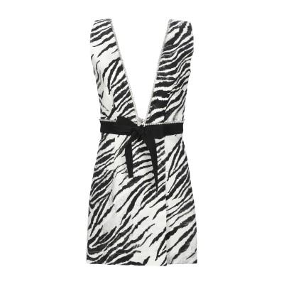 BROGNANO ミニワンピース&ドレス ブラック 40 コットン 98% / ポリウレタン 2% ミニワンピース&ドレス