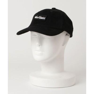 帽子 キャップ 【WILDTHINGS/ワイルドシングス】CORDUROY BASE BALL CAP