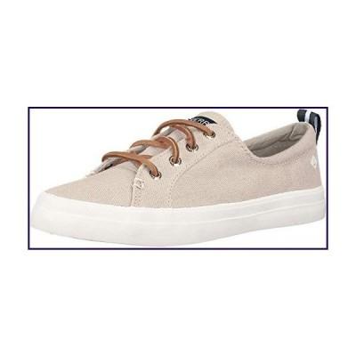 Sperry Womens Crest Vibe Linen Sneaker, Oat, 7.5【並行輸入品】
