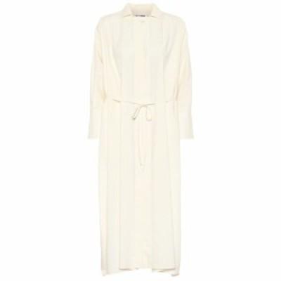 ジル サンダー Jil Sander レディース ワンピース ミドル丈 ワンピース・ドレス Cotton midi dress Natural