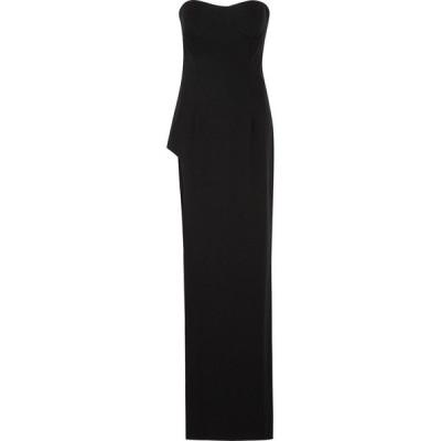 モノ Monot レディース パーティードレス ワンピース・ドレス black strapless gown Black