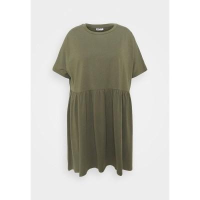 ノイジー メイ カーブ ワンピース レディース トップス NMKERRY SHORT DRESS - Jersey dress - kalamata