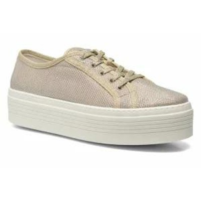 Guess レディーススニーカー Guess Trainers Branka Bronze and Gold Light gold