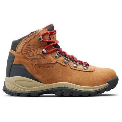 コロンビア Columbia Footwear レディース ハイキング・登山 ブーツ シューズ・靴 Columbia Newton Ridge Plus WP Amped Boot Elk/Mountain Red