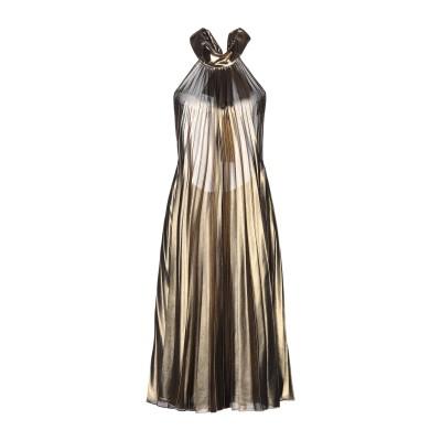 DIXIE ミニワンピース&ドレス ゴールド M ポリエステル 100% ミニワンピース&ドレス