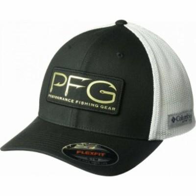 コロンビア Columbia メンズ キャップ 帽子 PFG Mesh(TM) Hooks Ball Cap Black/Gold