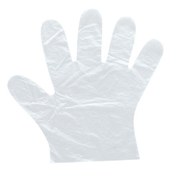 100入 拋棄式手套 手扒雞手套 一次性手套 環保手套 衛生手套 透明手套 PE手套 手套 塑膠手套 (V50-0093)