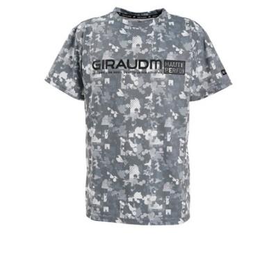 Tシャツ メンズ ドライプラスUVサイクルエアー半袖Tシャツ 863GM0DT2412 GRY