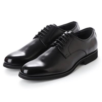 Limontiba・軽量 リモンティバ 靴 撥水加工・ 本革ビジネスシューズ紳士靴・紐・プレーンタイプ LM3022