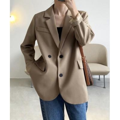 aimoha / 韓国風無地テーラードジャケット WOMEN ジャケット/アウター > テーラードジャケット