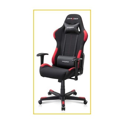 DXRacer Gaming Chair Ergonomic Office Affordable PC Console Racing Seat for Gamers - Formula Series FD01 | Strong Mesh, SGS Certified Gas Li
