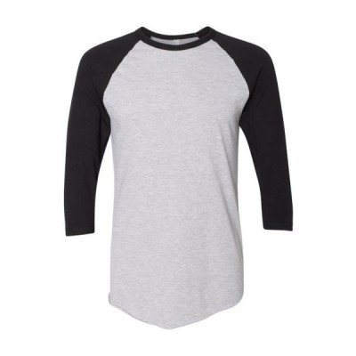 ユニセックス 衣類 トップス American Apparel T-Shirts 50/50 Three-Quarter Sleeve Raglan T-shirt BB453W グラフィックティー