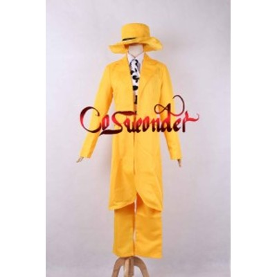 高品質 高級コスプレ衣装 マスク 風 スタンリー・イプキス タイプ スーツ オーダーメイド Movie The Mask Stanley Cosplay Costume