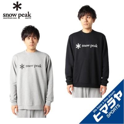 スノーピーク スウェットパーカー メンズ Printed Logo Sweat Hoodie プリンテッド ロゴ スイート フーディ SPS-SW-21SU002 snow peak