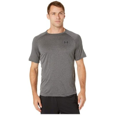 アンダーアーマー Under Armour メンズ Tシャツ トップス UA Tech Short Sleeve Tee Carbon Heather/Black