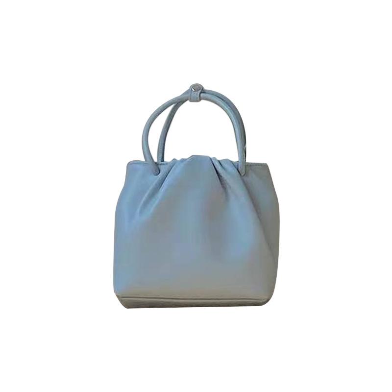 方形褶皺百搭小包包 17D013春夏新款時尚手提休閑韓版單肩斜挎包潮
