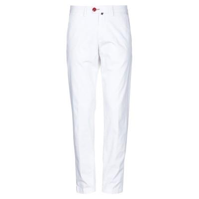 BARONIO パンツ ホワイト 36 コットン 97% / ポリウレタン 3% パンツ