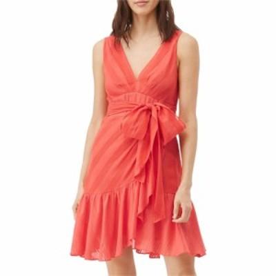 レベッカ テイラー Rebecca Taylor レディース ワンピース ラップドレス ノースリーブ ワンピース・ドレス Sleeveless Stripe Wrap Dress