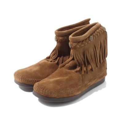 MINNETONKA / 【MINNETONKA】 ミネトンカ ハイトップバックジップフリンジブーツ  WOMEN シューズ > ブーツ