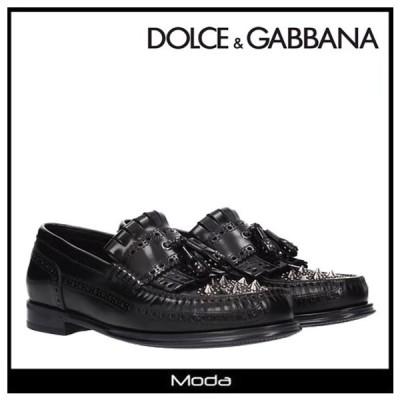 Dolce & Gabbana ドルチェ&ガッバーナ タッセル スタッズ ローファー メンズ
