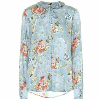 プリーン バイ ソーントン ブルガッジ Preen by Thornton Bregazzi レディース ブラウス・シャツ トップス Aryanna floral satin blouse