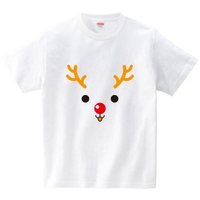 [itaxes] トナカイ [Tシャツ・ホワイト](フォーヴァ)
