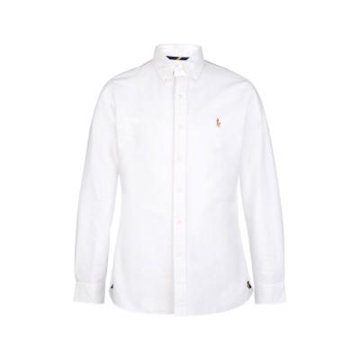 POLO RALPH LAUREN シャツ ホワイト M 100% コットン シャツ