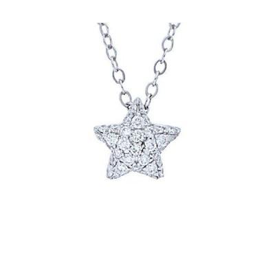 レディース アクセサリー  Nephora 14K 0.20 ct. tw. Diamond Small Starlet Necklace