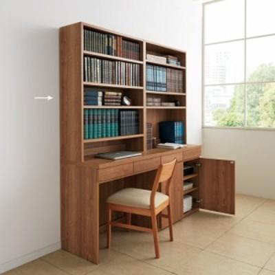 家具 収納 ホームオフィス家具 ユニットデスク ホームライブラリーシリーズ デスク 幅80cm 高さ180cm 591602