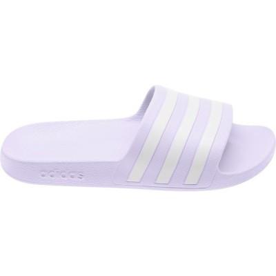 アディダス サンダル シューズ レディース adidas Women's Adilette Aqua Slides Lavender