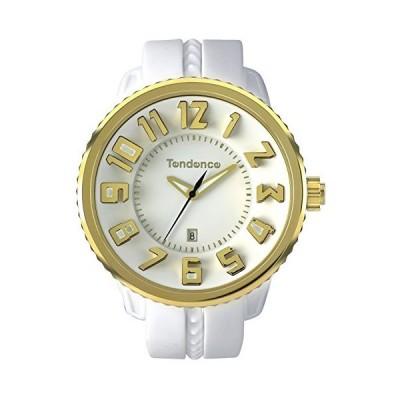 テンデンス 腕時計 ガリバーラウンド ホワイト文字盤 TG043023 並行輸入品 ホワイト