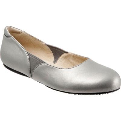 ソフトウォーク SoftWalk レディース シューズ・靴 フラット Norwich Pewter Soft Nappa Leather