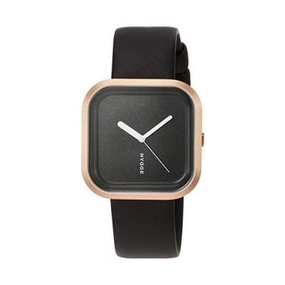 [ヒュッゲ] 腕時計 HGE020091 ブラック