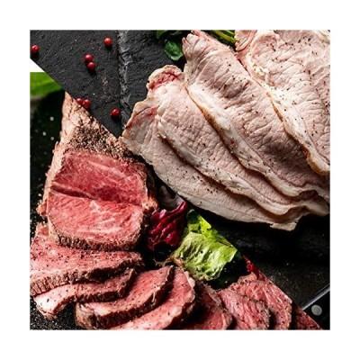 bonbori ( ぼんぼり ) 熟成 プレミアム ローストビーフ ローストポーク 食べ比べ 500g超 希少部位 サブトン ( はねした