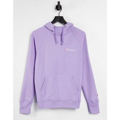 チャンピオン レディース パーカー・スウェットシャツ アウター Champion hoodie with logo in lilac Lilac