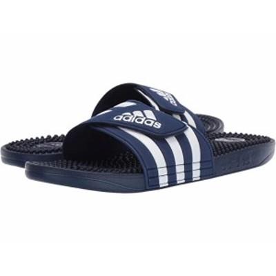 (取寄)アディダス アディサージ adidas adissage Dark Blue/Footwear White/Dark Blue