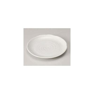 和食器 ハ207-267 粉引釉7.0皿