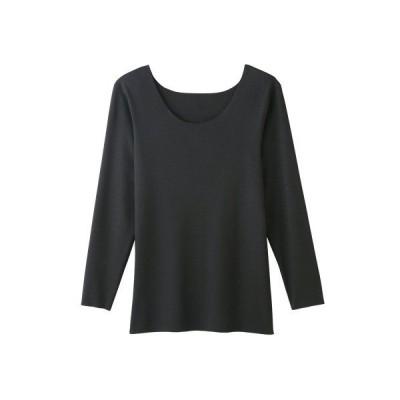 【KIREILABO(キレイラボ)】完全無縫製 なめらかにフィット 8分袖インナー 綿混