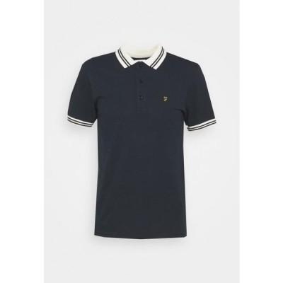ファーラー メンズ ファッション STANTON POLO - Polo shirt - true navy