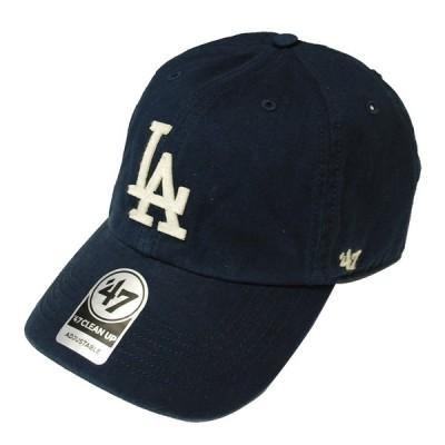47ブランド '47 BRAND DODGERS HASKET '47 CLEAN UP NAVY/ネイビー ロサンゼルス ドジャース 6パネルキャップ 帽子