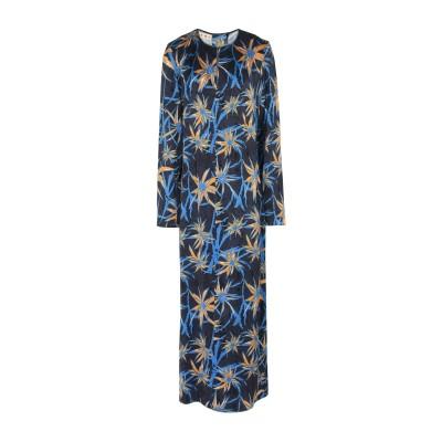 マルニ MARNI ロングワンピース&ドレス 鉛色 38 レーヨン 100% ロングワンピース&ドレス