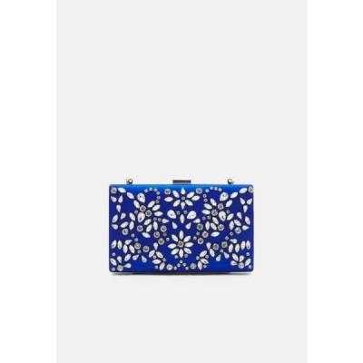 フォーエバーニュー レディース バッグ CLARICE EMBELLISHED RECTANGLE - Clutch - blue