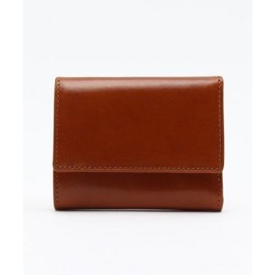 財布 オリーチェレザー三つ折り財布