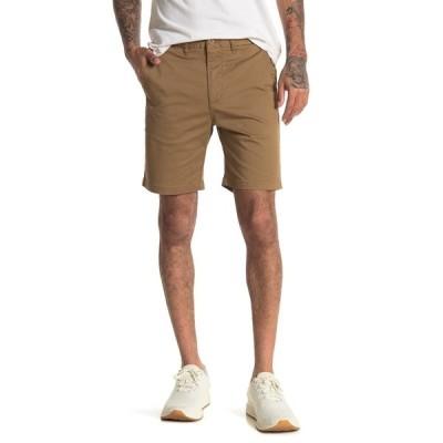 グローブ メンズ カジュアルパンツ ボトムス Goodstock Chino Walk Shorts DESERT