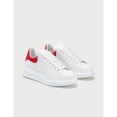 アレキサンダー マックイーン Alexander McQueen レディース スニーカー シューズ・靴 oversized sneaker White/Lust Red