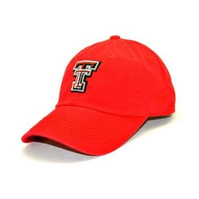 ユニセックス スポーツリーグ アメリカ大学スポーツ Texas Tech Red Raiders Official NCAA Adult One Size Adjustable Cotton Crew Ha